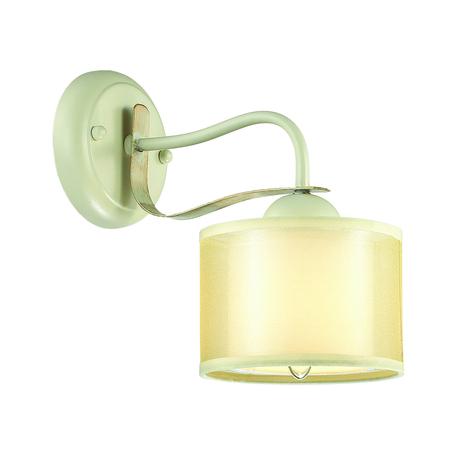 Бра Lumion Lilivant 3488/1W, 1xE14x40W, белый, желтый, металл, пластик, текстиль