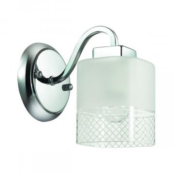 Бра Lumion Ananda 3528/1W, 1xE27x60W, хром, матовый, прозрачный, металл, стекло - миниатюра 2