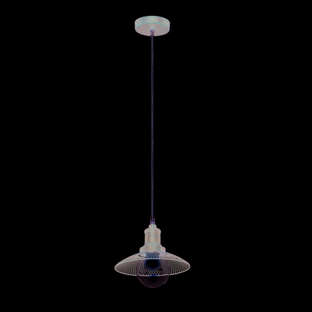 Подвесной светильник Lumion Lofti Ludacris 3513/1, 1xE27x60W, коричневый, металл, металл со стеклом