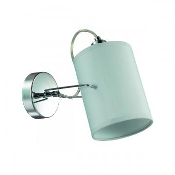 Потолочный светильник с регулировкой направления света Lumion Visario 3522/1W, 1xE14x40W, хром, серый, металл, текстиль - миниатюра 2