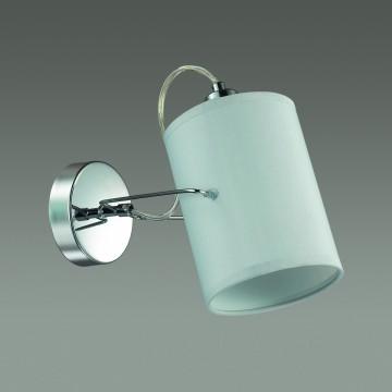 Потолочный светильник с регулировкой направления света Lumion Visario 3522/1W, 1xE14x40W, хром, серый, металл, текстиль - миниатюра 4