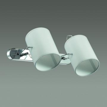 Потолочный светильник с регулировкой направления света Lumion Visario 3522/2W, 2xE14x40W, хром, серый, металл, текстиль - миниатюра 4