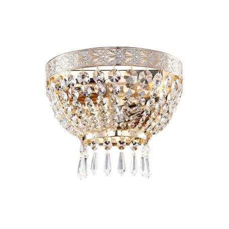 Бра Maytoni Bella DIA750-WB01-WG, 2xE14x60W, золото, прозрачный, металл, хрусталь