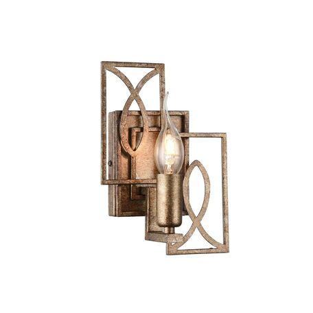 Бра Maytoni Eisner H237-01-G, 1xE14x40W, матовое золото, металл