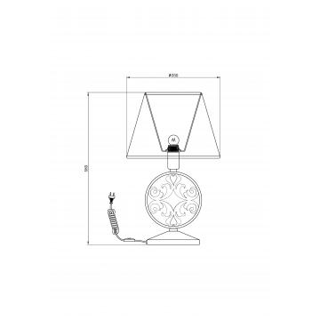 Схема с размерами Maytoni H899-22-R