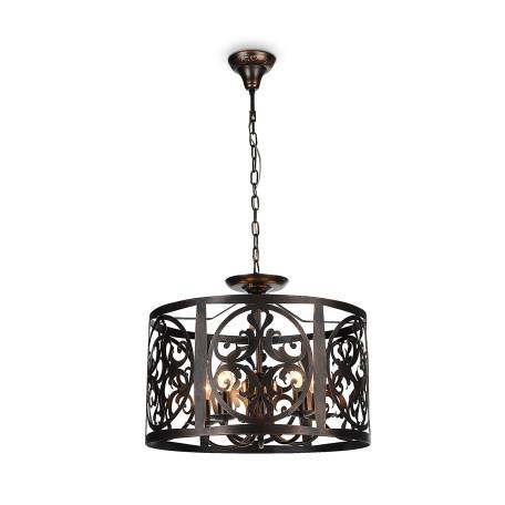 Подвесная люстра Maytoni Classic House Rustika H899-05-R, 5xE14x60W, коричневый, металл, ковка