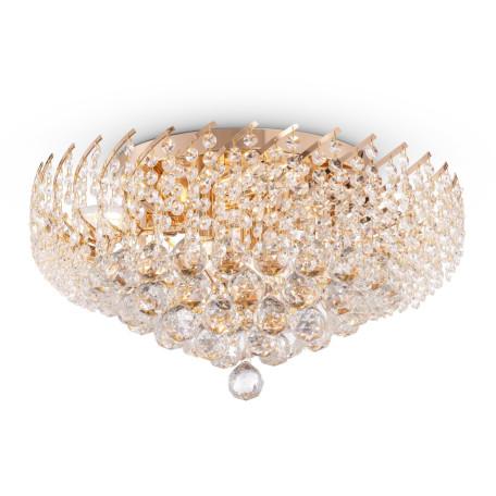 Потолочная люстра Maytoni Karolina DIA120-09-G, 9xE14x40W, золото, прозрачный, металл, хрусталь - миниатюра 2