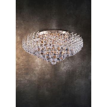Потолочная люстра Maytoni Royal Classic Karolina DIA120-09-G, 9xE14x40W, золото, прозрачный, металл, хрусталь - миниатюра 3