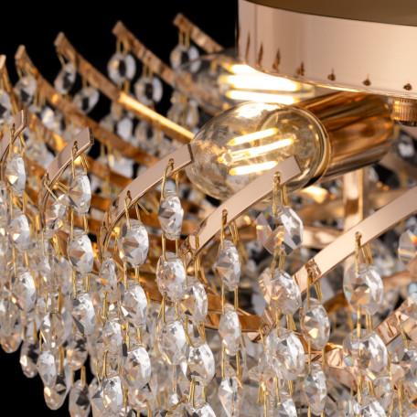Потолочная люстра Maytoni Royal Classic Karolina DIA120-09-G, 9xE14x40W, золото, прозрачный, металл, хрусталь - миниатюра 5