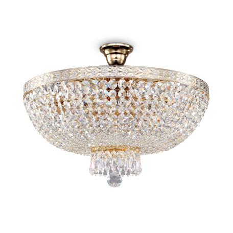 Потолочная люстра Maytoni Bella DIA750-PT50-WG, 6xE14x60W, золото, прозрачный, металл, стекло