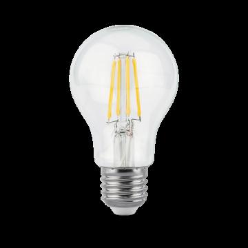 Филаментная светодиодная лампа Gauss 102802110 груша E27 10W, 2700K (теплый) CRI>90 185-265V, гарантия 3 года - миниатюра 3