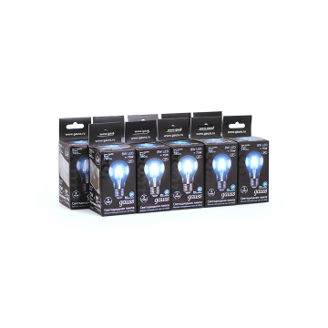 Филаментная светодиодная лампа Gauss 102802208 груша E27 8W, 4100K (холодный) CRI>90 185-265V, гарантия 3 года - миниатюра 3