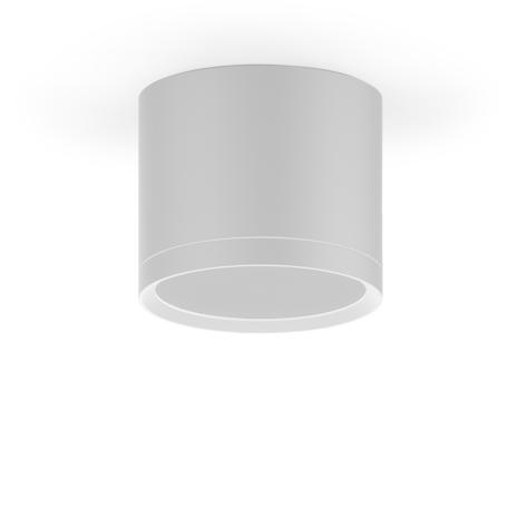 Потолочный светодиодный светильник Gauss Overhead HD025, LED 10W 3000K 700lm CRI>80, белый, металл