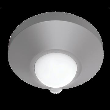 Мебельный светодиодный светильник Gauss CL002, LED 2W 4000K 120lm CRI>80, серебро, металл