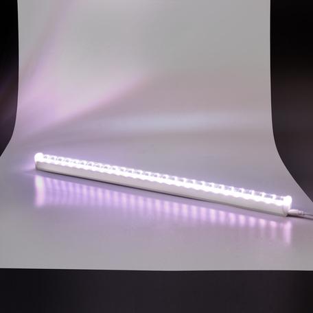 Светодиодный светильник для растений Gauss Фито 130411910, LED 10W 3000K 440lm CRI>80, белый, пластик