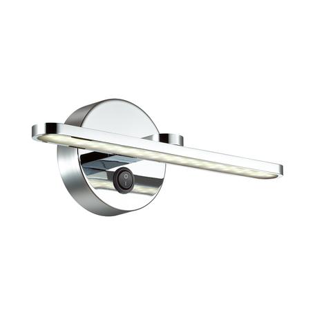Настенный светильник Lumion Akari 3762/10WL, IP44, хром, металл, пластик