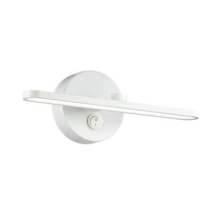 Настенный светильник Lumion Akari 3763/10WL, IP44, белый, металл, пластик