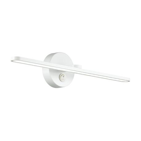 Настенный светильник Lumion Akari 3763/14WL, IP44, белый, металл, пластик