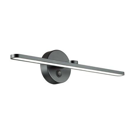 Настенный светильник Lumion Akari 3764/14WL, IP44, черный, металл, пластик