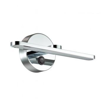 Настенный светильник Lumion 3762/10WL, IP44, хром, металл, пластик