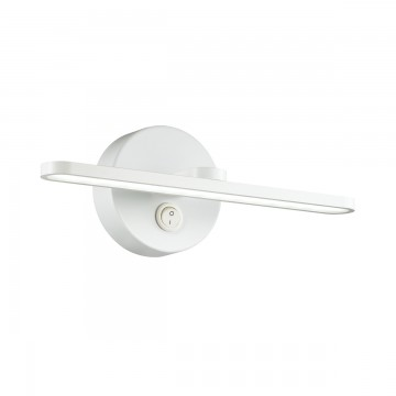 Настенный светильник Lumion 3763/10WL, IP44, белый, металл, пластик