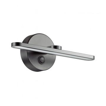 Настенный светильник Lumion 3764/10WL, IP44, черный, металл, пластик