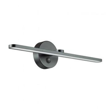 Настенный светильник Lumion 3764/14WL, IP44, черный, металл, пластик