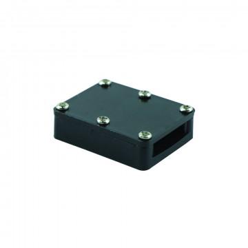 Соединитель для гибкого токопровода Arte Lamp Instyle A151006, черный, металл, пластик