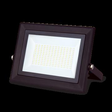 Светодиодный прожектор Gauss Elementary 613527120, IP65, LED 20W 3000K 1300lm CRI75, черный, металл, металл со стеклом