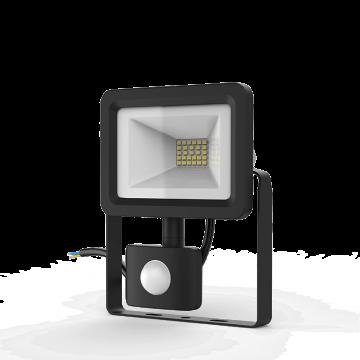 Светодиодный прожектор Gauss Elementary 628511320, IP65, LED 20W 6500K 1380lm CRI>75, черный, металл, металл со стеклом