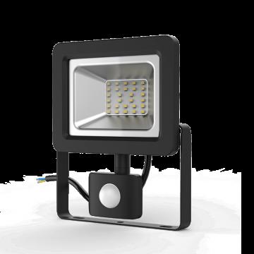 Светодиодный прожектор Gauss Elementary 628511330, IP65, LED 30W 6500K 2100lm CRI>75, черный, металл, металл со стеклом