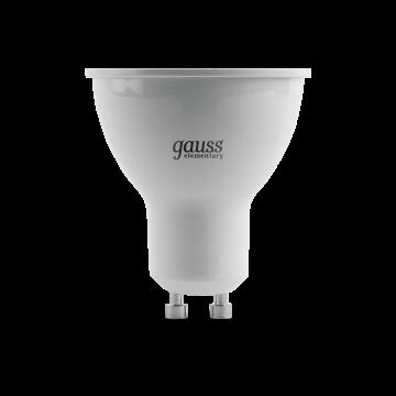 Светодиодная лампа Gauss Elementary 13619 MR16 GU10 9W, 3000K (теплый) 180-240V - миниатюра 2