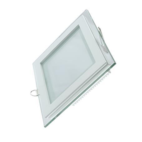 Светодиодная панель Gauss 948111118, LED 18W 3000K 1390lm CRI>80, белый, металл со стеклом