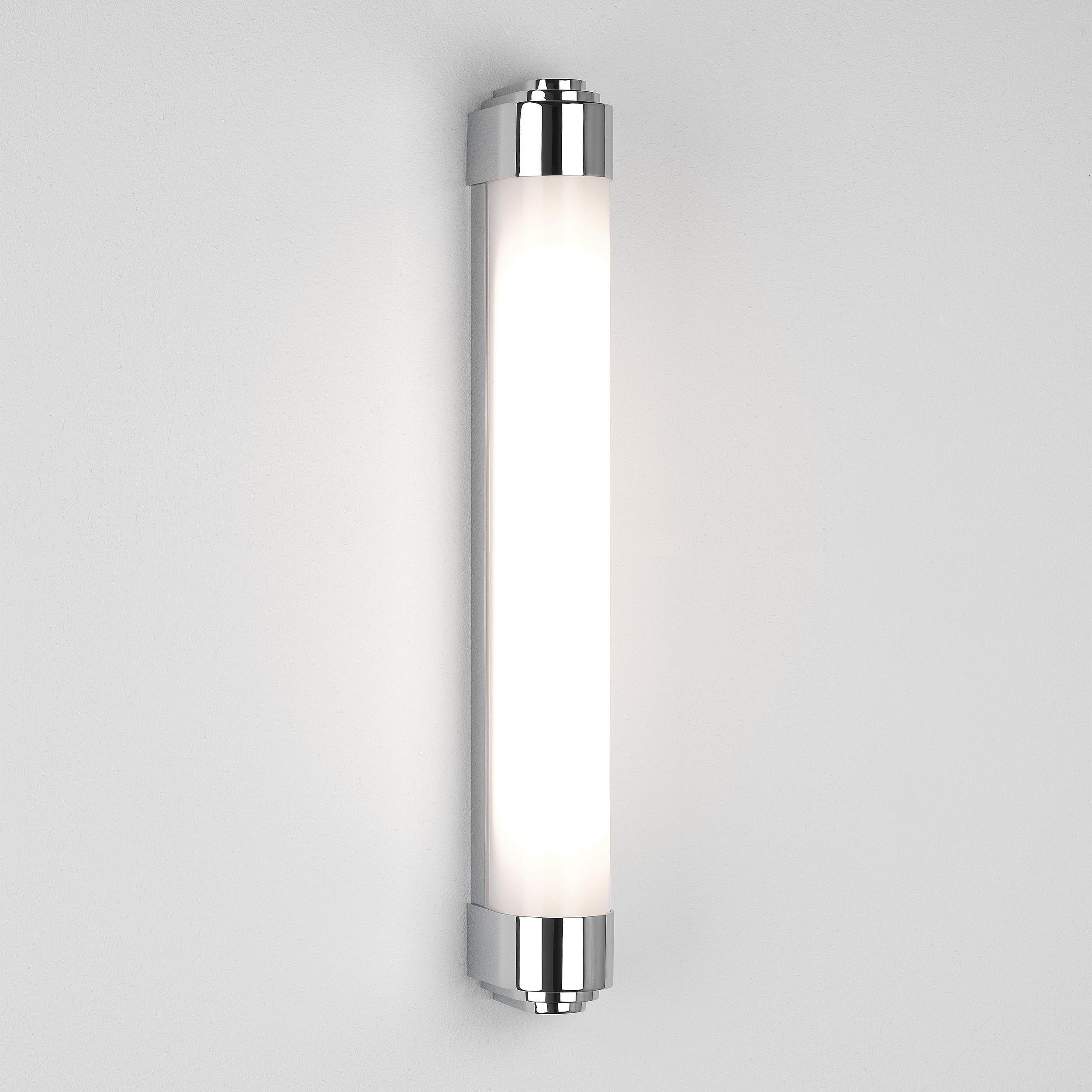 Настенный светодиодный светильник Astro Belgravia 1110008 (8044), IP44, LED 19W 3000K 723.06lm CRI80, хром, белый, металл, пластик - фото 1