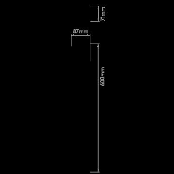 Схема с размерами Astro 1110008