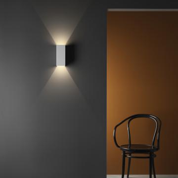 Настенный светодиодный светильник Astro Parma 1187021 (8182), LED 7,7W 3000K 503.6lm CRI80, белый, под покраску, гипс - миниатюра 2
