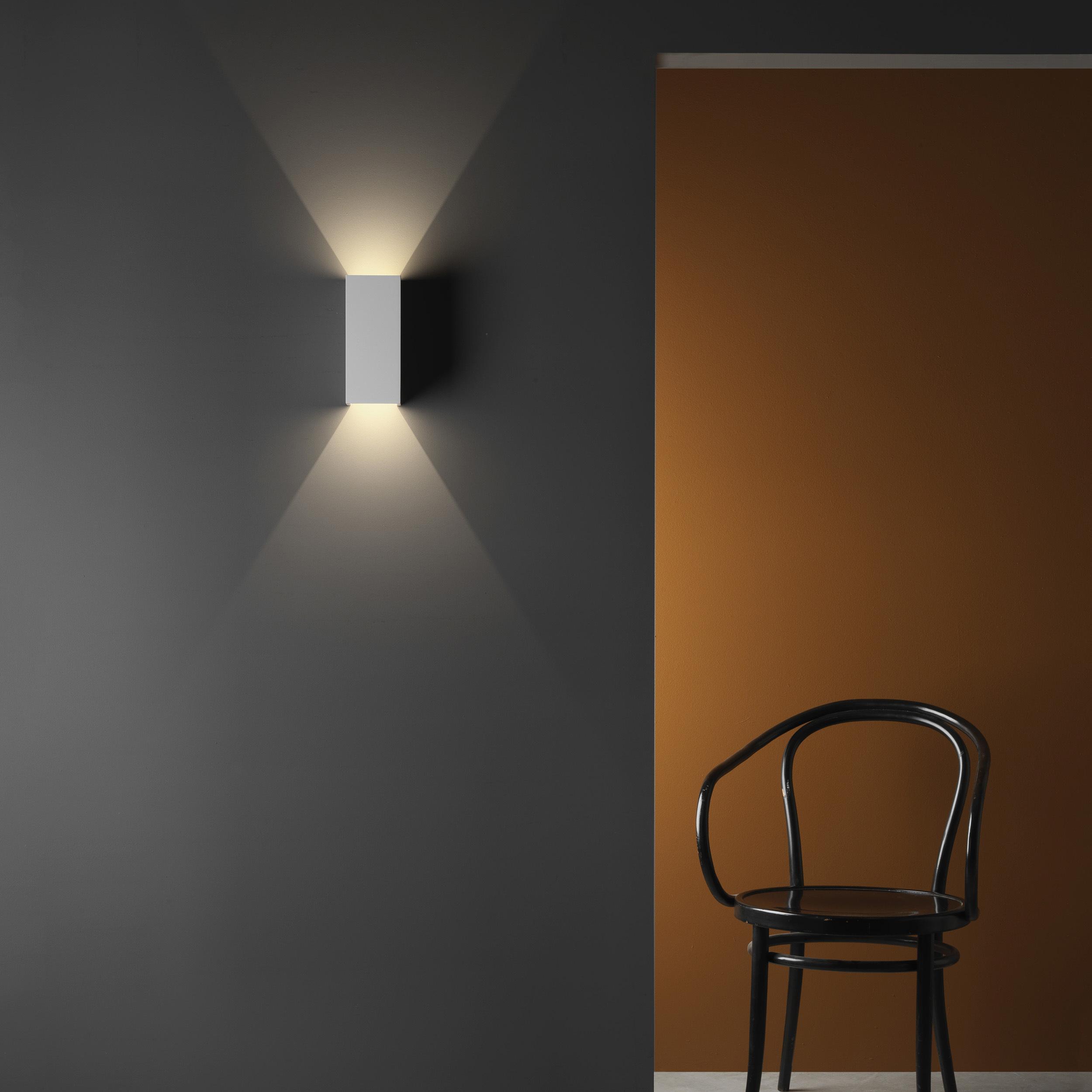Настенный светодиодный светильник Astro Parma 1187021 (8182), LED 7,7W 3000K 503.6lm CRI80, белый, под покраску, гипс - фото 2