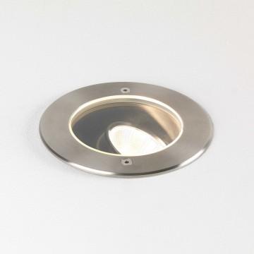Встраиваемый светодиодный светильник Astro Cromarty 1378003 (8189), IP67, LED 16W 3000K (теплый), прозрачный, сталь, металл, стекло