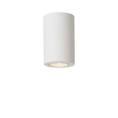 Потолочный светильник Lucide Gipsy 35100/11/31, 1xGU10x35W, белый, под покраску, гипс
