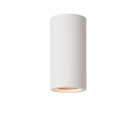 Потолочный светильник Lucide Gipsy 35100/14/31, 1xGU10x35W, белый, под покраску, гипс