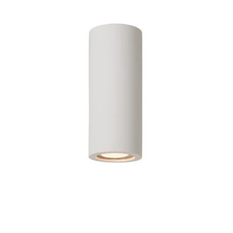 Потолочный светильник Lucide Gipsy 35100/17/31, 1xGU10x35W, белый, под покраску, гипс