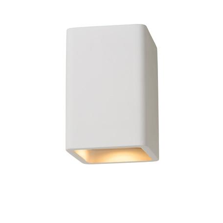 Потолочный светильник Lucide Gipsy 35101/14/31, 1xGU10x35W, белый, под покраску, гипс