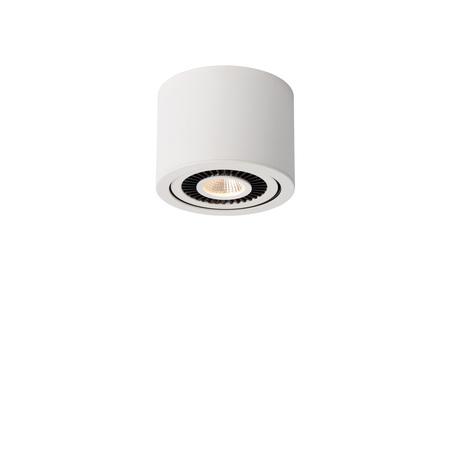 Потолочный светодиодный светильник Lucide Opax 33956/05/31, LED 5W 3000K, белый, черно-белый, металл