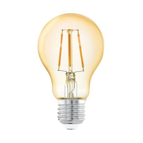 Филаментная светодиодная лампа Eglo 11555 груша E27 4W, 2200K (теплый) CRI>80, гарантия 5 лет