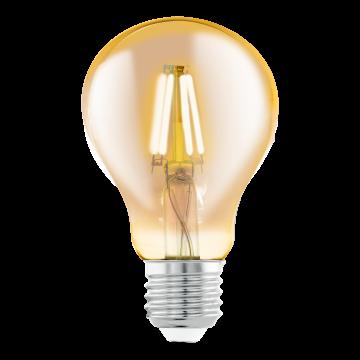 Филаментная светодиодная лампа Eglo 11555 груша E27 4W, 2200K (теплый), гарантия 5 лет