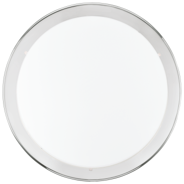 Потолочный светильник Eglo Planet 82944, 2xE27x60W, хром, белый, металл, стекло