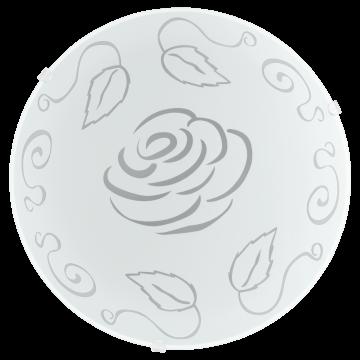 Потолочный светильник Eglo Mars 1 89238, 1xE27x60W, белый, матовый, металл, стекло - миниатюра 1