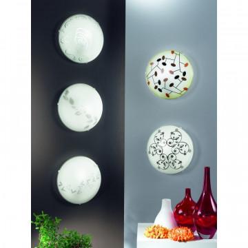 Потолочный светильник Eglo Mars 1 89238, 1xE27x60W, белый, матовый, металл, стекло - миниатюра 3