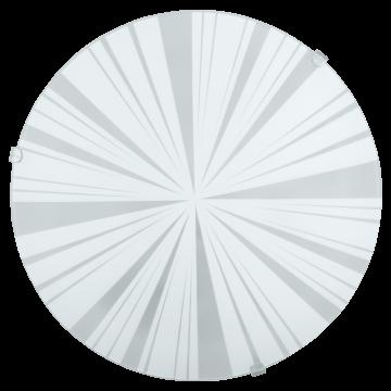 Потолочный светильник Eglo Mars 1 89239, 1xE27x60W, белый, матовый, металл, стекло