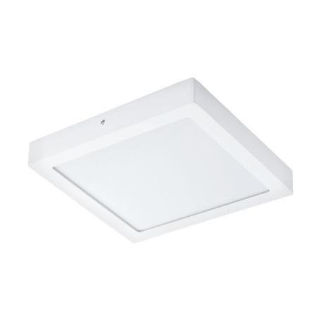 Потолочный светодиодный светильник Eglo Fueva 1 96169, IP44, LED 22W 3000K 2600lm CRI>80, белый, металл с пластиком, пластик